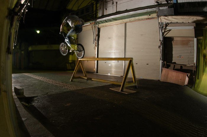 RAIL RIDE<br/>PHOTO:山崎肇