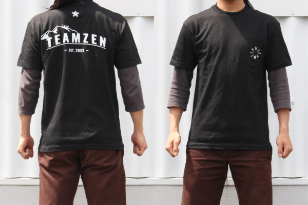 TEAMZEN ORIGIN SS POCKET T SHIRT