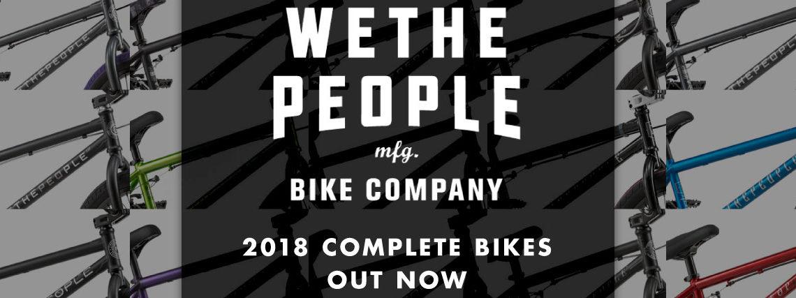 WETHEPEOPLEの完成車、2018年モデルが国内へ入荷しました!ディーラーシップへ出荷スタートしてます!