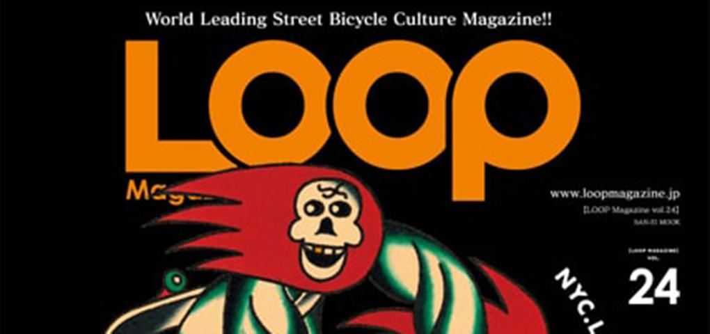 LOOP MAGAZINE VOL.24はスナップ特集!! ZENのライダー達も多数掲載。