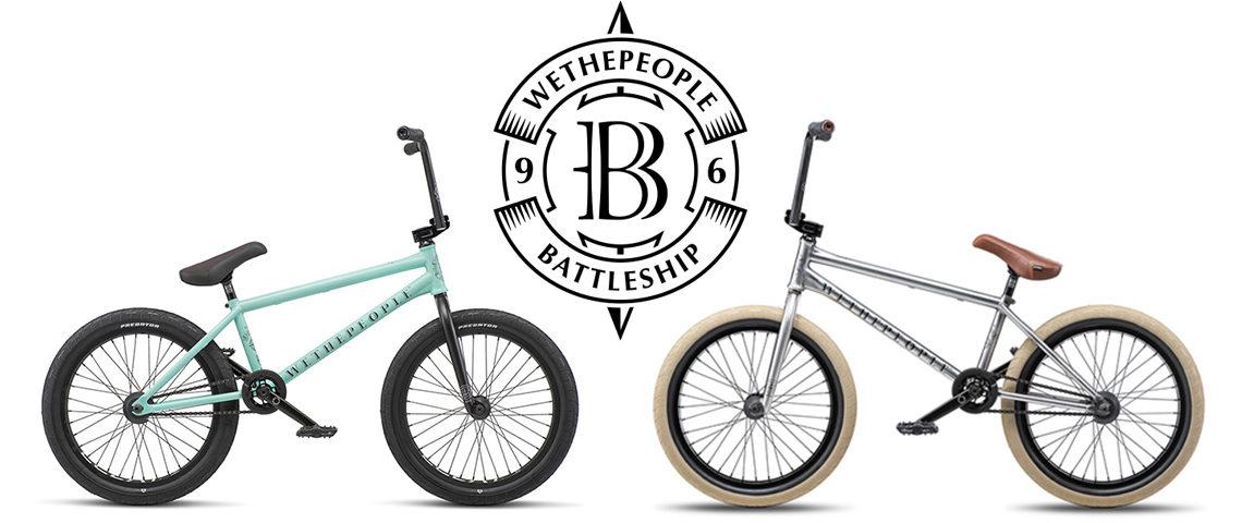 100%プロ仕様の完成車 WETHEPEOPLE – BATTLESHIP FC