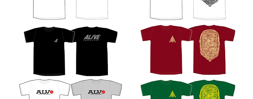 ALIVE INDUSTRY – 2019 SUMMER APPARELをチェック